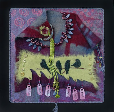 improvisational bead embroidery by Robin Atkins, Forgive, April 2010 BJP