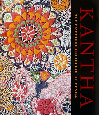 Kantha, the Embroidered Quilts of Bengal, book cover