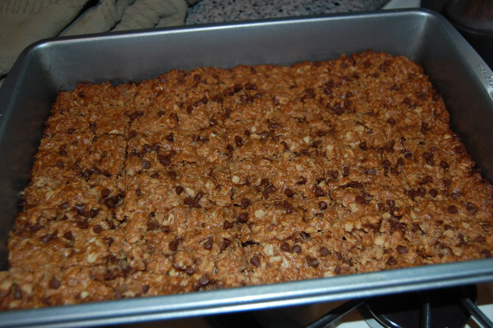 We Are Family: New Recipe - Week 1: Playgroup Granola Bars