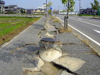 A força de um terramoto Terremotos