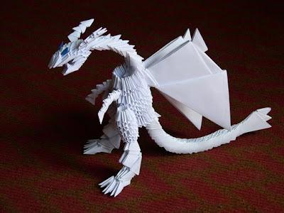 Дракон из модулей схема фото 988