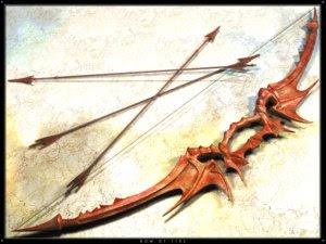 El Elfo Nocturno Caido Arco+y+Flecha