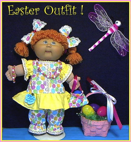 Cabbage Patch Easter Outfit