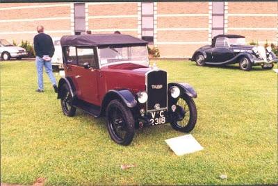 Triumph Super 7 cars