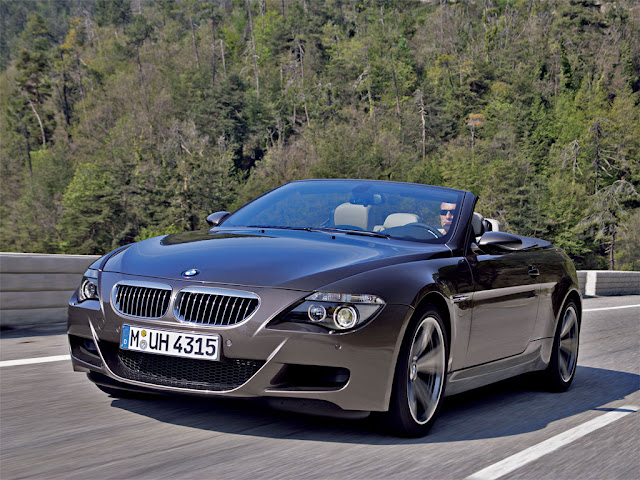 Bmw, bmw cars, 2011 BMW cars  pictures, Bmw M6 frontangle left grey convertible car