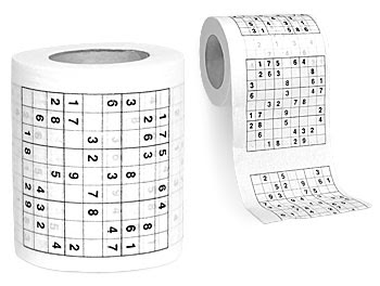 How to use Toilet Paper. Sodoku+Toilet+Paper