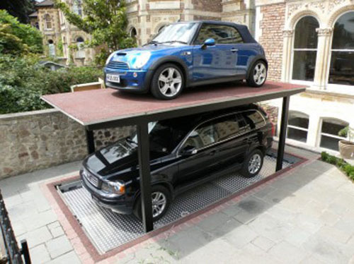 Cars can even be parked on top of each other thus offering an efficient  system for urban areas too. Cardok is powered by an electronic hydraulic  system that ...