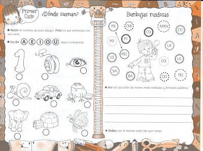 Cuadernillos De Actividades Primer Ciclo Para Infantiles Y