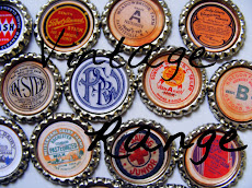Vintage bottlecaps