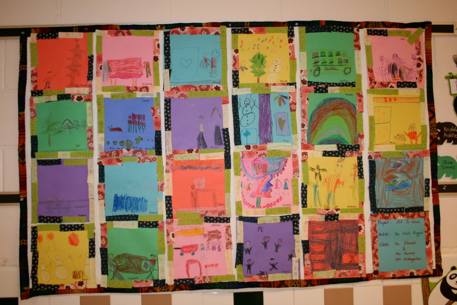 Art history faith ringgold paper quilts