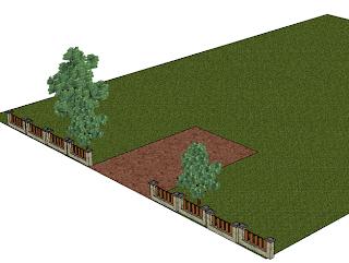 Darmowy program do projektowania ogrodów - Google SketchUp