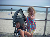 Our first time at the beach