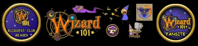 Proud Member of the Wizard101 Blogger's Club