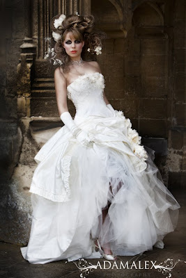 the wedding dress