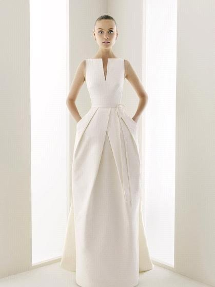 wedding party gown