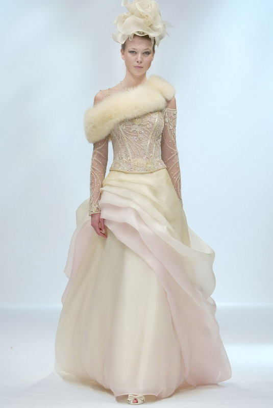 THE WINTER WEDDING GOWN | i love dadiva