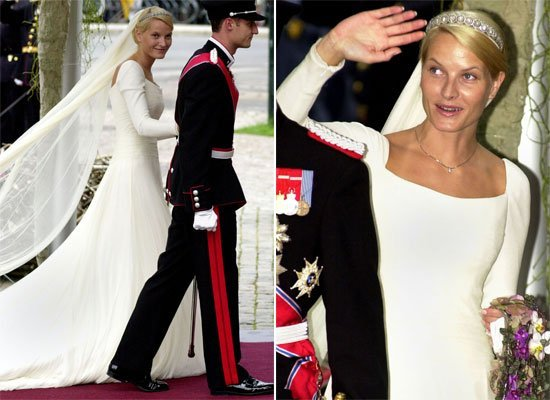 Mette Marit Of Norways Gown Was Created By Norwegian Ove Harder Finseth Traditional And State The Art All At Once