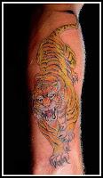 tatuaje tigrii
