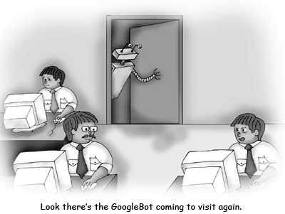 GoogleBot Cartoon