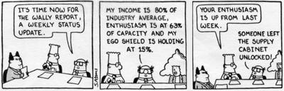Dilbert - status reports