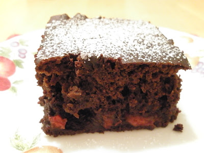 gluten-free cherry chocolate cake