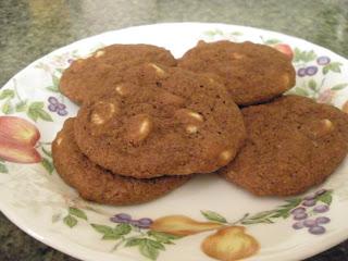 gluten-free chocolate pudding cookies