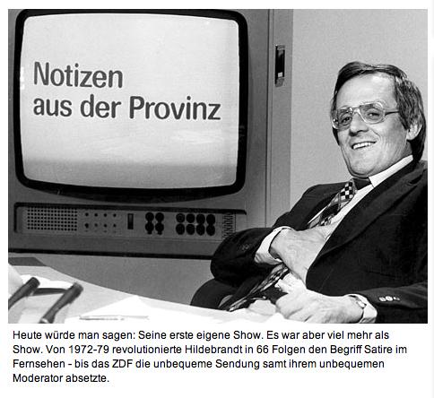 SZ - Notizen aus dem ZDF-Studio