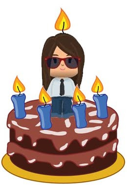Feliz cumpleaños, tarta alegría