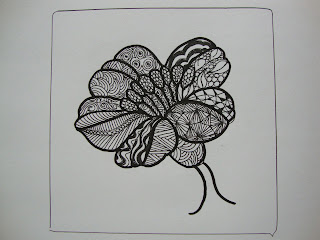 Flower Zentangle