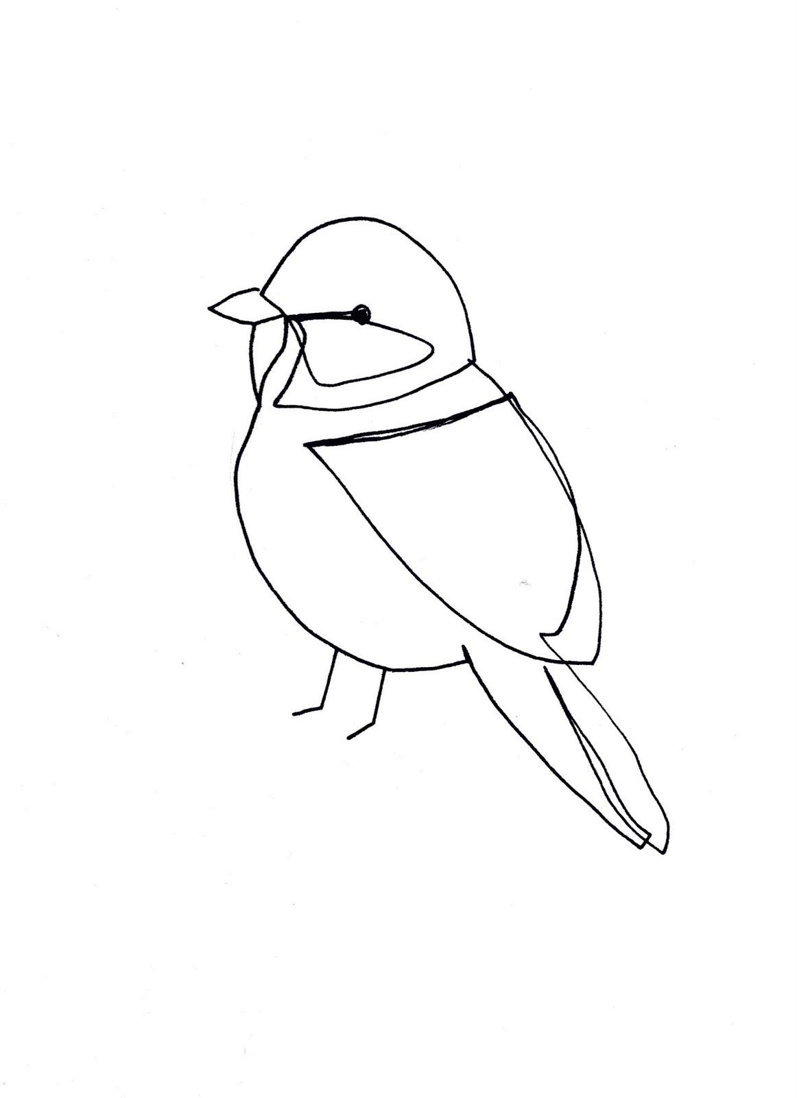 Single Line Art : Single line drawings birds of pray