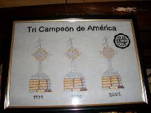 Olimpia Tri Campeón de America