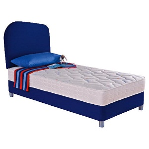 Kids Beds Uk Silentnight Kids Starter Bed Divan Set Blue