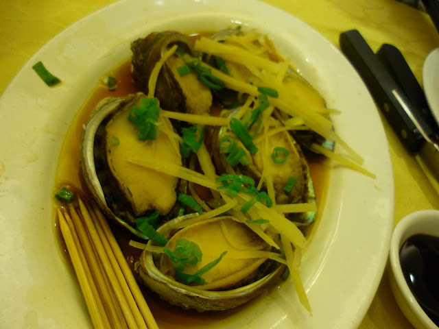Sai Kung Seafood, Steamed Abalone