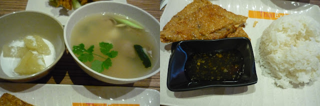 Thai Express Tom Yum Soup, Pancake