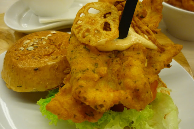 Battered Dory, Burger, Fish
