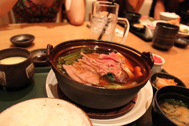 Japanese Sukiyaki Beef