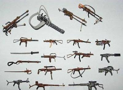 மின் வயரினால் செய்யப்பட்ட அழகான மனிதர்கள் துப்பாக்கிகள் 47145,xcitefun-wire-soldiers-15