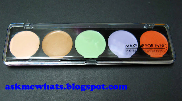 a photo of Make Up Forever Camouflage Cream Palette No. 5 Review