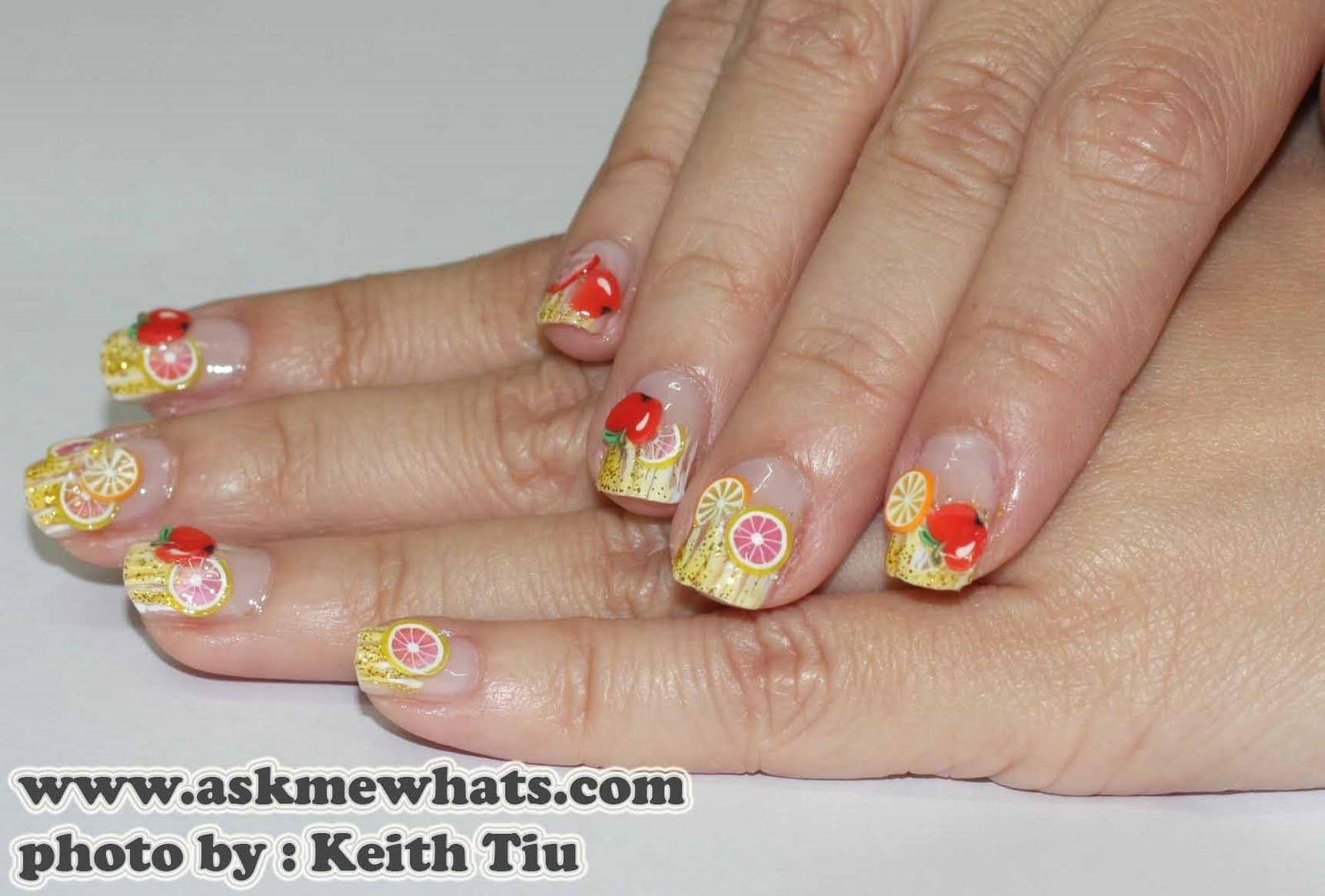 Nail Art: Fruity Nail Art-Gallery