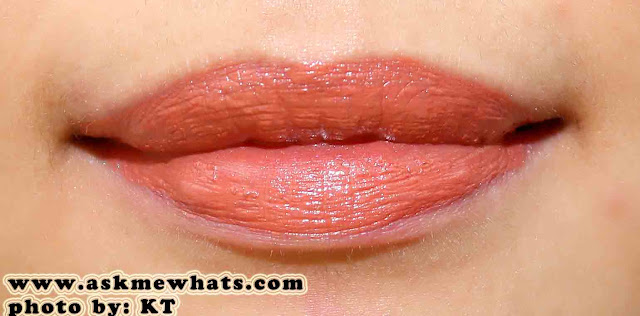 a photo of Maybelline ColorSensational Moisture Extreme Color coral sunrise
