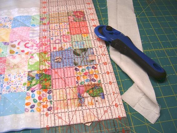Sew Fun Quilts My Easy Peasy Machine Binding Tutorial
