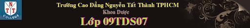 Dược 09TDS07 Trường Đại Học Nguyễn Tất Thành TPHCM