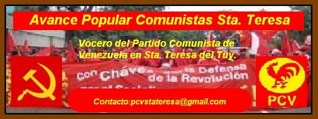 Avance Popular Comunistas Sta. Teresa