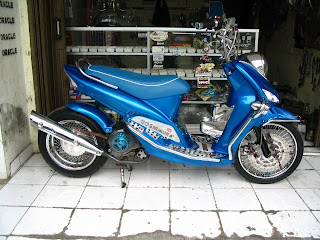 Yamaha Mio Retro Modified