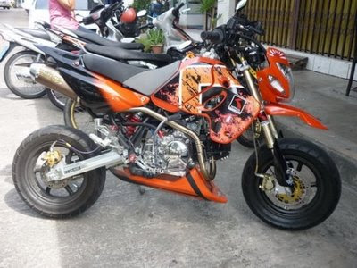 KAWASAKI KSR SPEC MODIFICATION REVIEW   Modif Motor