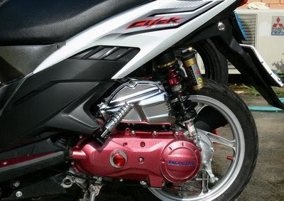 Honda Click-i Engine AirBrush Modification