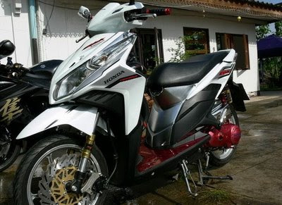 Honda Click-i Modification Picture