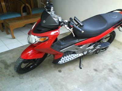 YAMAHA NOUVO Sport Modification