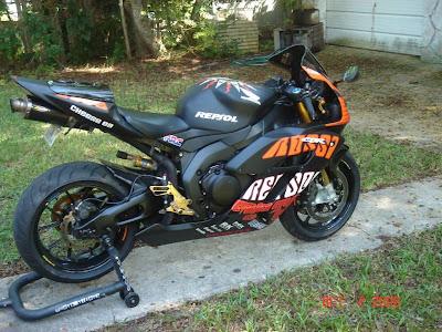 Honda CBR 1000cc Modification
