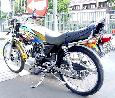 Modifikasi Motor Yamaha Rk King